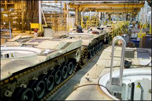 Sen. Sherrod Brown (D., Ohio) said the National Defense Authorization Act, with funds for the Abrams tank plant in Lima, was passed in the House Wednesday, is set to pass the Senate today, and is likely to be signed by President Obama on Friday.