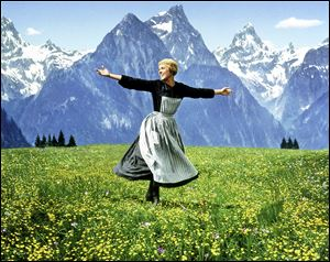 Julie Andrews stars in the 1965 classic 'The Sound of Music.'