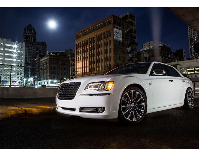CHRYSLER GROUP LLC 300 MOTOWN new ad In the new ad, Detroit native Berry Gordy, who founded Motown Records, is driven through Detroit in a 2013 Chrysler 300 Motown Edition that ends up in front of a theater in Manhattan.