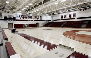 The $1.4 million renovation of Genoa High School's gym, as well as its auditorium, is '95 percent'complete, the superintendent said.