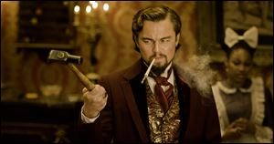 Leonardo DiCaprio plays Calvin Candle in