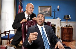 Comedy Central's Keegan-Michael Key, left, and Jordan Peele from the sketch comedy series