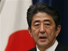 Japan-Politics-abe-waves