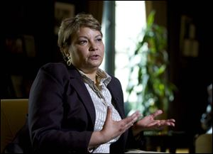 Environmental Protection Agency (EPA) Administrator Lisa Jackson.