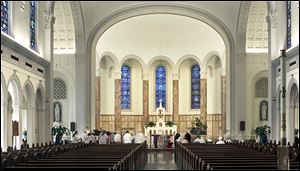 The Chapel at the IHM Motherhouse in Monroe is to be host to the annual Festival of Church Choirs on Sunday afternoon. The chapel, which opened in 1939,  will close on Monday for renovations that include brighter, more efficient lighting and a new audio system to aid the hearing-impaired.