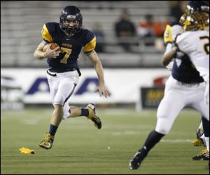 Quarterback Nick Holley helped the Panthers reach the Division I state final, where they fell to Cincinnati Moeller.