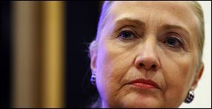 FILE - Secretary of State Hillary Rodham Clinton spent a second day at a New York hospital and developed the clot after suffering a concussion earlier in December.