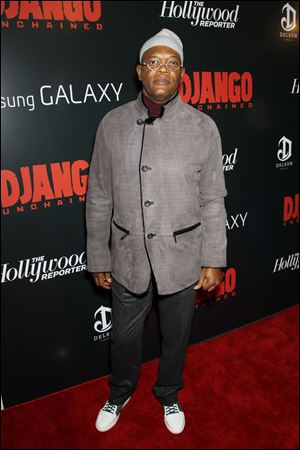 Actor Samuel L. Jackson arrives at a special screening of