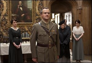 English actor Hugh Bonneville has appeared in several popular movies, but for the 49-year-old it has been PBS' Masterpiece Downton Abbey that's been the game-changer. Bonneville plays Robert Crawley, Earl Grantham, lord of the family estate.