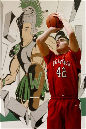 Bedford's Jeremy Harris, a 6-4 junior, averages 10.8 points and 7.6 rebounds.