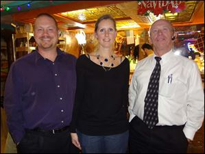Ted Meiers, Jr., Amanda Meiers, Ted Meiers Sr from Tessera Associates.