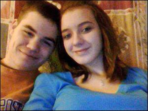 Sebastian McConnell, 20, and Ashley Jenkins, 17, of Bryan, died in a house fire today.