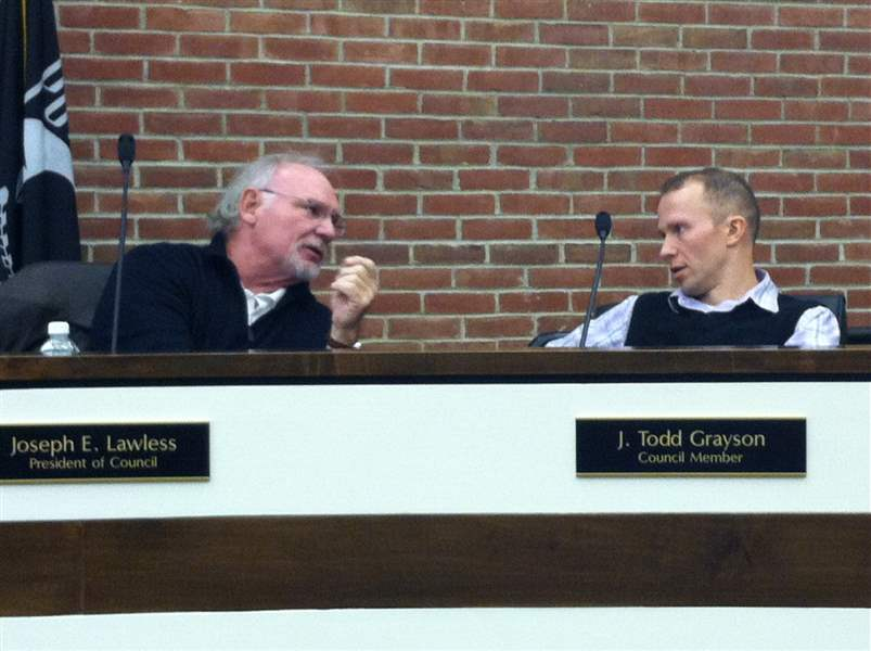 Perrysburg-Council-Grayson-Lawless