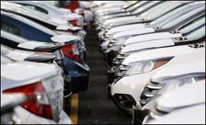 Honda said its U.S. sales were up 24 percent in 2012.