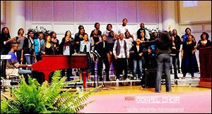 The Bowling Green State University Gospel Choir, organizer of the festival, is among the groups to perform at the event next weekend. Groups from across the state are on the event's schedule.