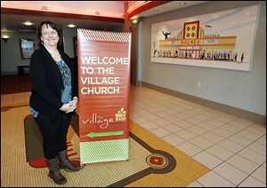 Down the road on Conant Street, the Rev. Cheri Holdridge will continue to greet worshipers at the Village Church, which has been worshiping on Sunday mornings in the Maumee Indoor Theatre after meeting previously in a building on Monroe Street in Toledo.