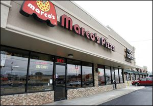 Marco's Pizza said it has 320 stores in 26 states