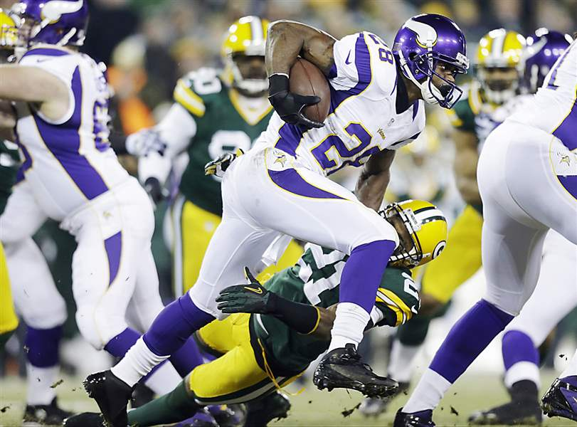 Vikings-Packers-Football