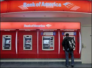Bank of America had a costly day, signing on not only on a multibillio