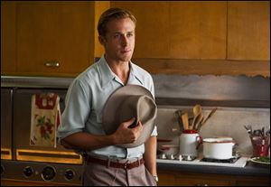 "Ryan Gosling portrays Sgt. Jerry Wooters in '""Gangster Squad.'"
