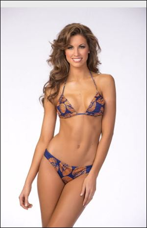 Miss Alabama USA Katherine Webb, Alabama QB AJ McCarron's girlfriend, has been gaining thousands of twitter fans following the BCS Championship.