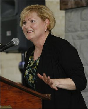 State Rep. Teresa Fedor was honored in the government category in the 2013 Milestone Awards presented by the YWCA of Northwest Ohio.