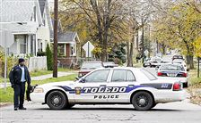 Toledo-police-block-a-street-following-a-report-of-two-people