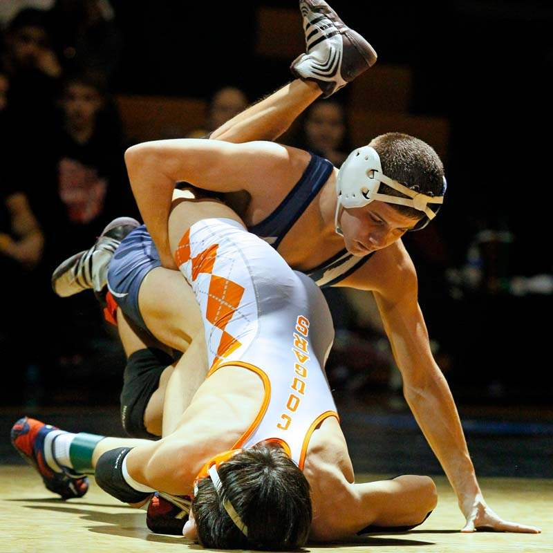 Napoleon-s-Seth-Beard-attempts-to-pin-Southview-s