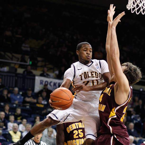 University-of-Toledo-guard-Julius-Brown-20-goes-to-the-net-against