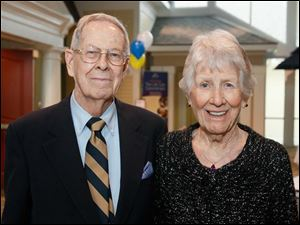 John Williamson and his wife Helen celebrated his 90th birthday with an open house.