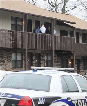 A suspect was arrested today in the slaying of a 49-year-old woman in her  West Toledo apartment. Joan Watson was found dead just before 9:30 a.m. inside her apartment at 3118 W. Sylvania Ave.