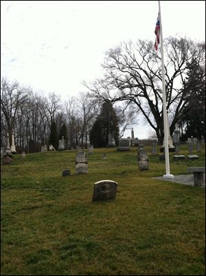 Sylvania Township Association Cemetery located on Convent Blvd. in Sylvania.