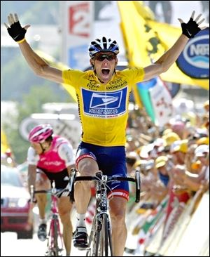 The government may join a federal whistleblower lawsuit against Lance Armstrong, a former champion cyclist who has admitted to doping and has been stripped of his wins. The U.S. Postal Service was a longtime sponsor of Armstrong's racing career.