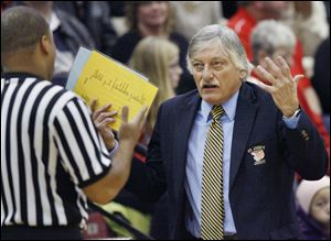 St. John's coach Ed Heintschel is 10th all-time in victories among Ohio high school boys basketball coaches.
