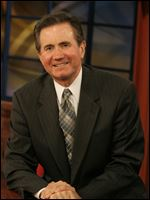 Jim Blue, a former news anchor at WNWO-TV.