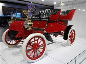 William Clay Ford Jr.'s 1903 Ford Model A, the oldest surviving Ford Car.