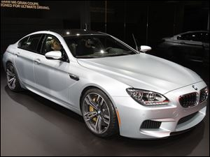 BMW M6 Gran Coupe.