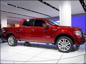 The Ford F-150 Limited.