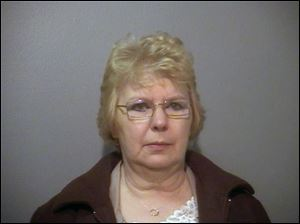 Sharon Broadway, 62, will serve at least 45 months in prison for embezzlement.