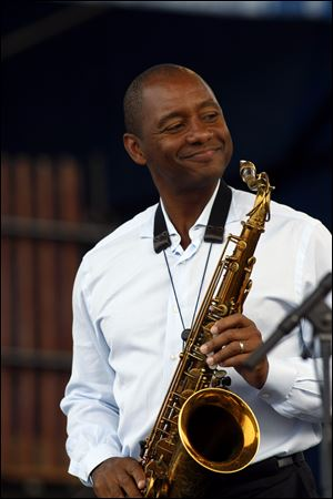 Among Branford Marsalis' performances while in Haiti will be a private show Tuesday at the residence of U.S. Ambassador Pamela White.