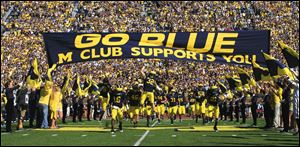 Forbes valued the Wolverines athletics at $120 million, nearly double that of Ohio State in the magazines rankings.