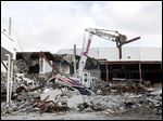 In 2011, Billy Paxton, owner of Paxton Demolition, tore down part of the cinema on Secor Road. Two years later, plans are said to be coming together for a $25 million hotel and retail project on the site.