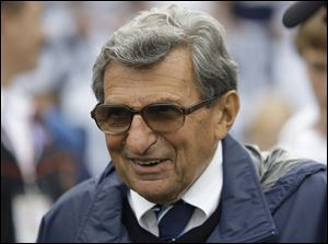Penn State coach Joe Paterno in 2009.