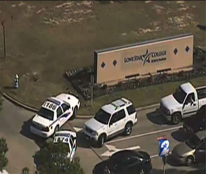 Texas-College-Lockdown