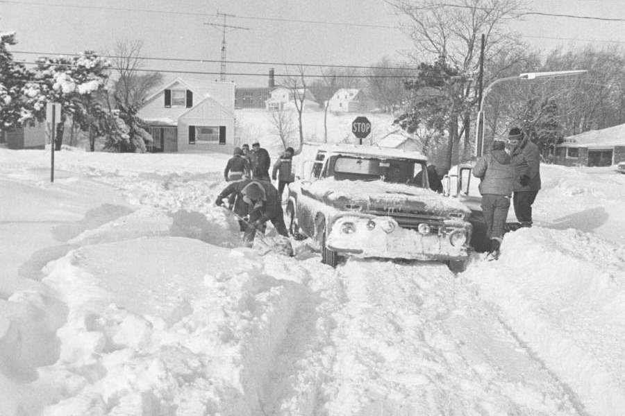Remembering the Blizzard of 78 WeatherWorks 1978 blizzard satellite images