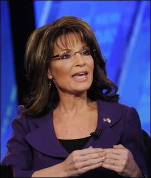 Sarah Palin signed to deliver commentary on Fox in January 2010, reportedly for $1 million a year.
