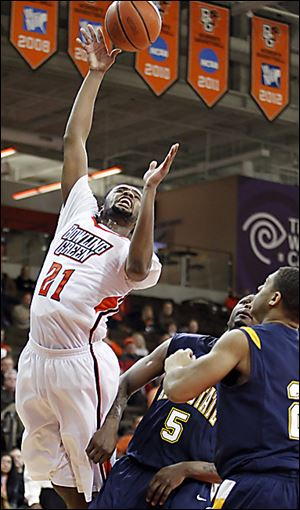 BG's Chauncey Orr has scored in double-digits in the last two games for the Falcons.