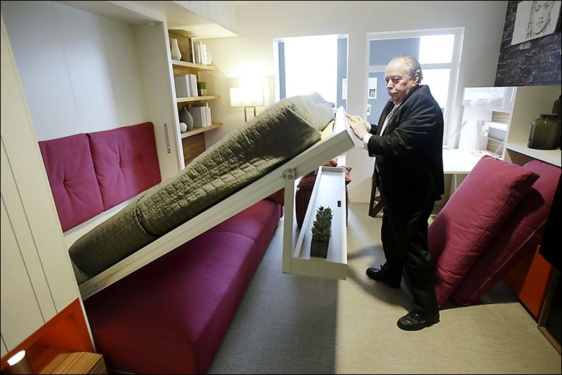 New yorkers think small living in big city toledo blade for New model apartment