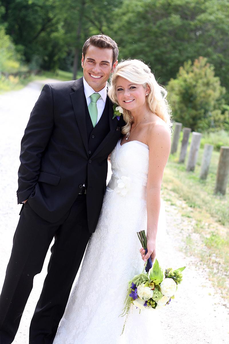 daney wedding - beach wedding in chicago