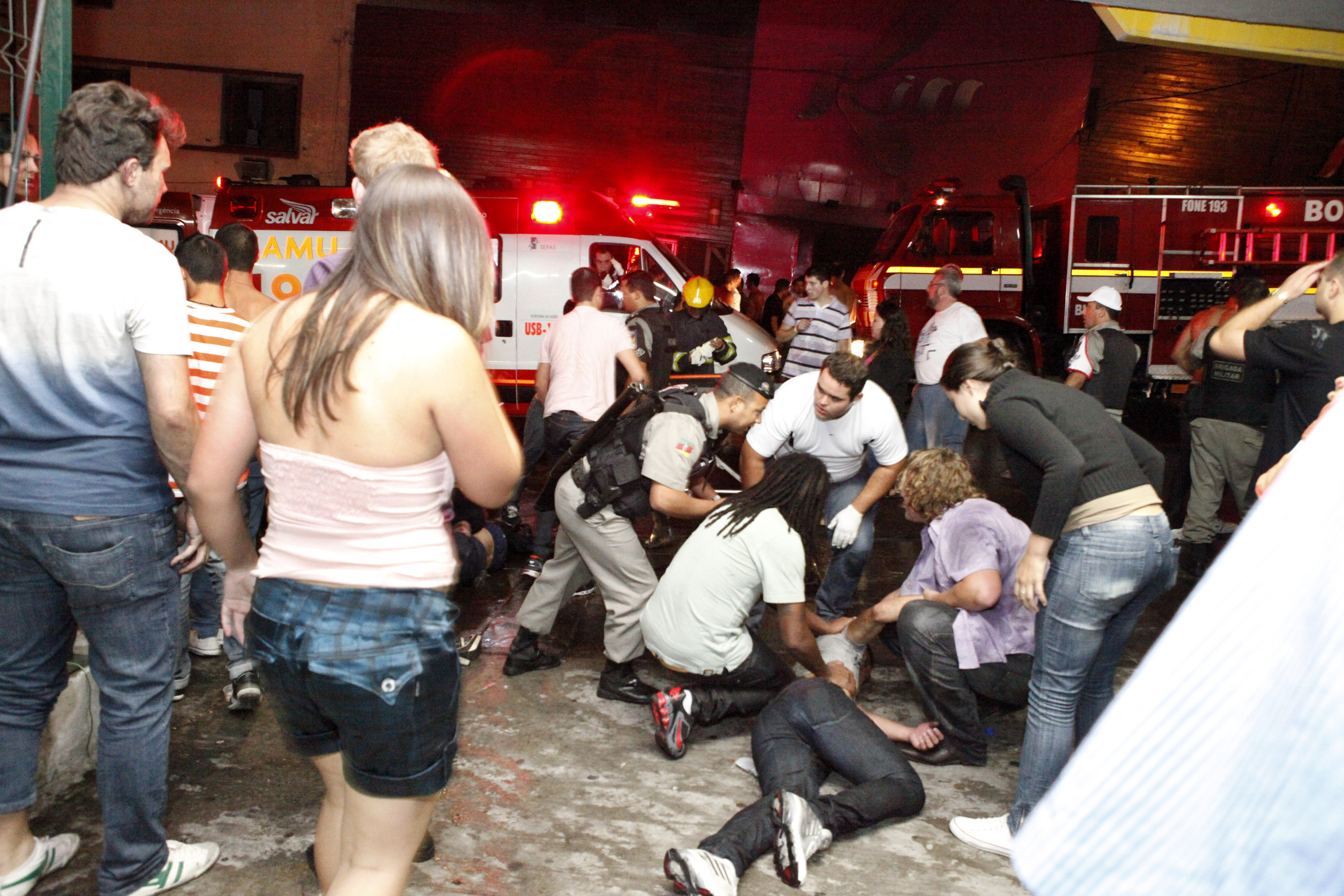 Fire At Brazil Nightclub Kills 232 As Partygoers Stampede